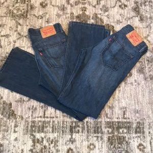 Levi's 527 bootcut Slim Jeans 30 x 32